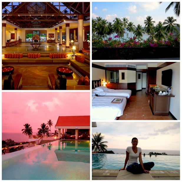 Hotel The Leela Kovalam beach