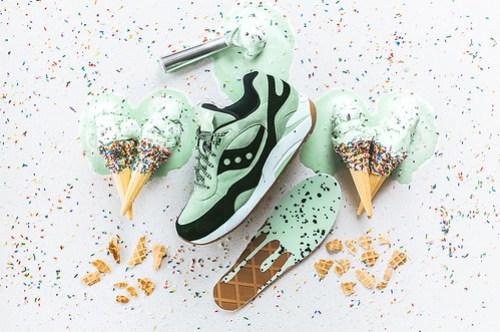 Saucony G9 Shadow 6 'Scoop Pack - Mint Choc Chip'