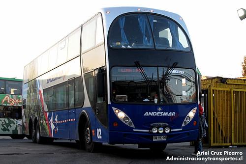 Andesmar Chile - Santiago - Metalsur Starbus / Mercedes Benz (CWVK70)