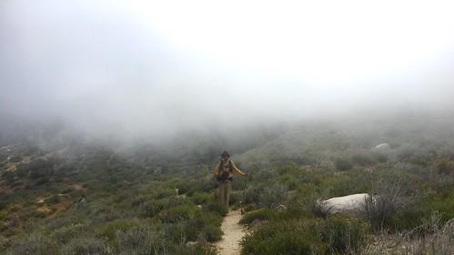 PCT Day 17 down Fuller Ridge