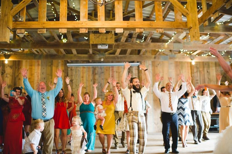 Rustic farm wedding from Offbeat Bride
