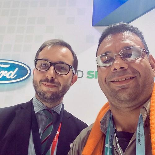 #MWC15 Alex Serno Ford España