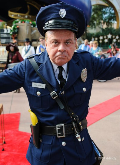 Officer Percival Peabody, Citizen of Hollywood