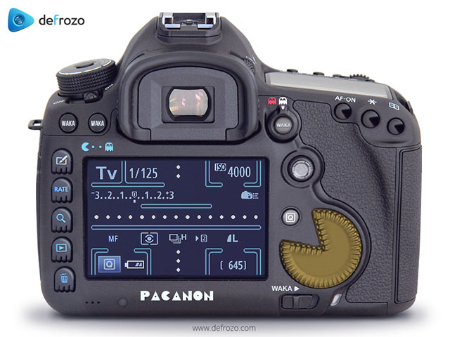 Canon-pacman-model