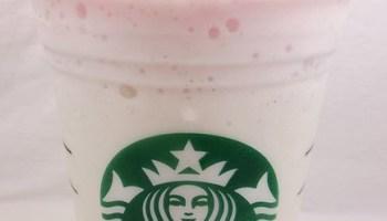 REVIEW Starbucks Birthday Cake Frappuccino
