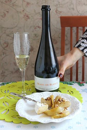 дегустация российского шампанского, брют, Фанагория