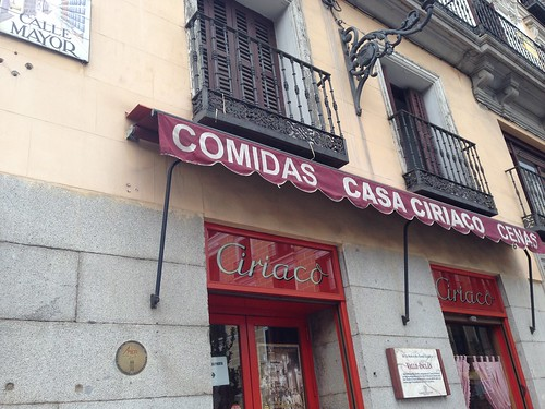 Casa Ciriaco, Centro. Madrid