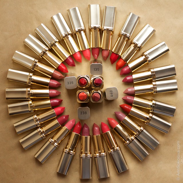 06 L'Oreal Paris Color Riche Lipstick 30 years 30 new shades swatches