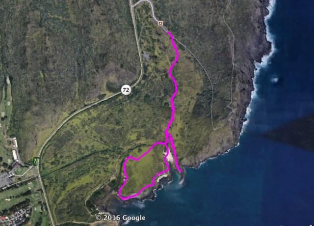Kaiwi Shoreline Trail