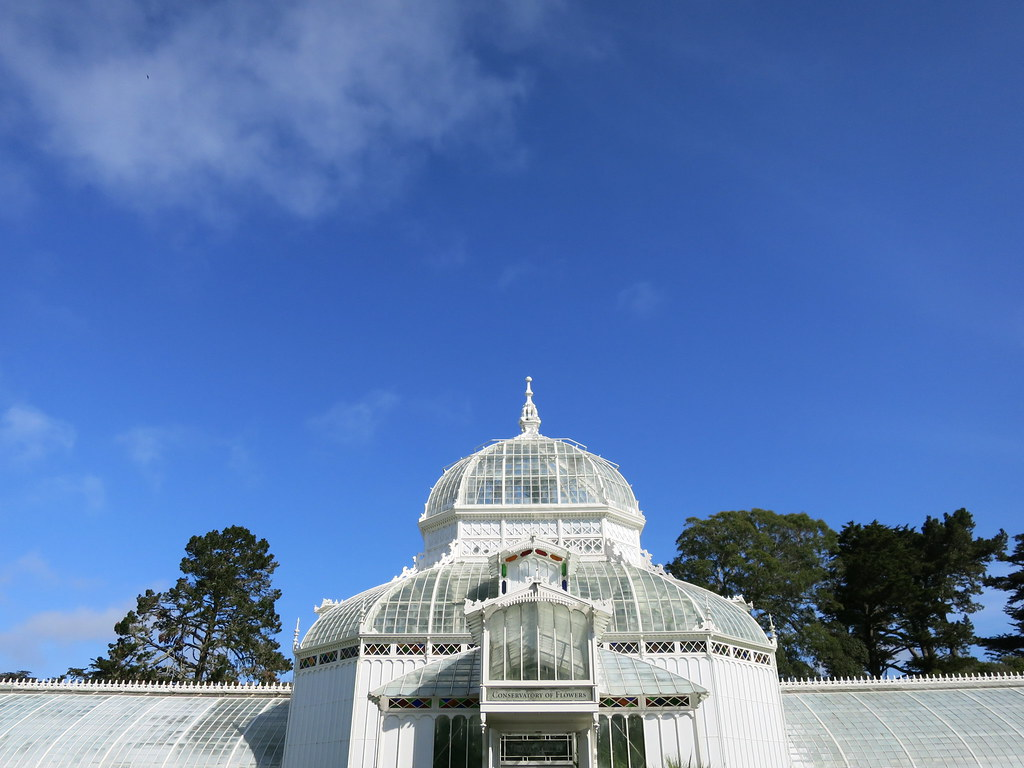Conservatory of Flowers architecture
