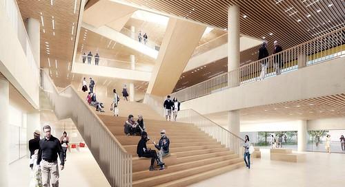 Interior ground floor - atrium
