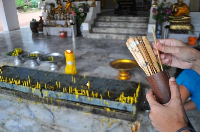 Phra That Si Song Rak, a Buddhist Stupa, Loei Province, Thailand.