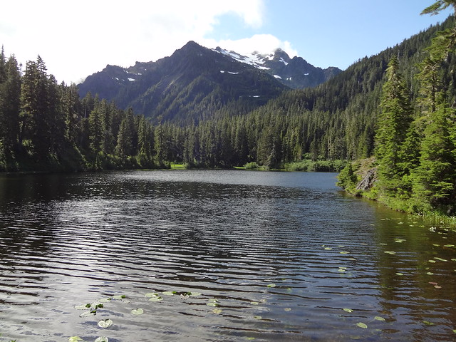 Lake Margaret and Mount Seattle