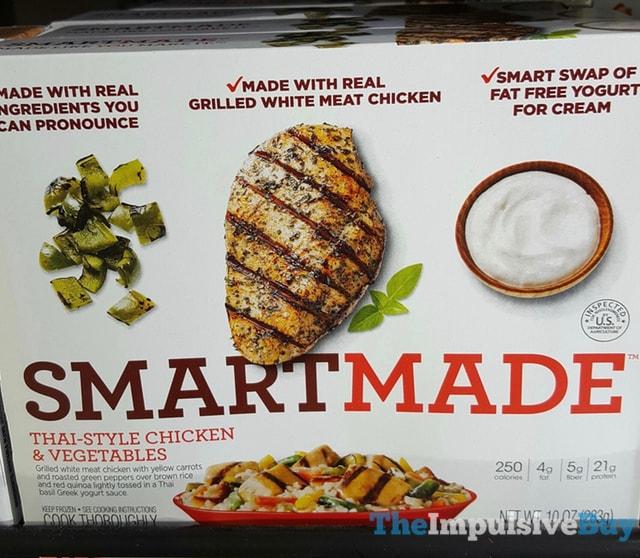Smart Made Thai-Style Chicken & Vegetables