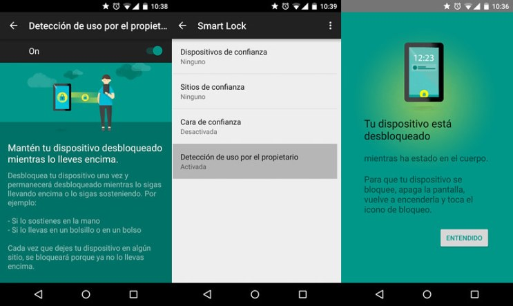 Smart Lock Android Lollipop
