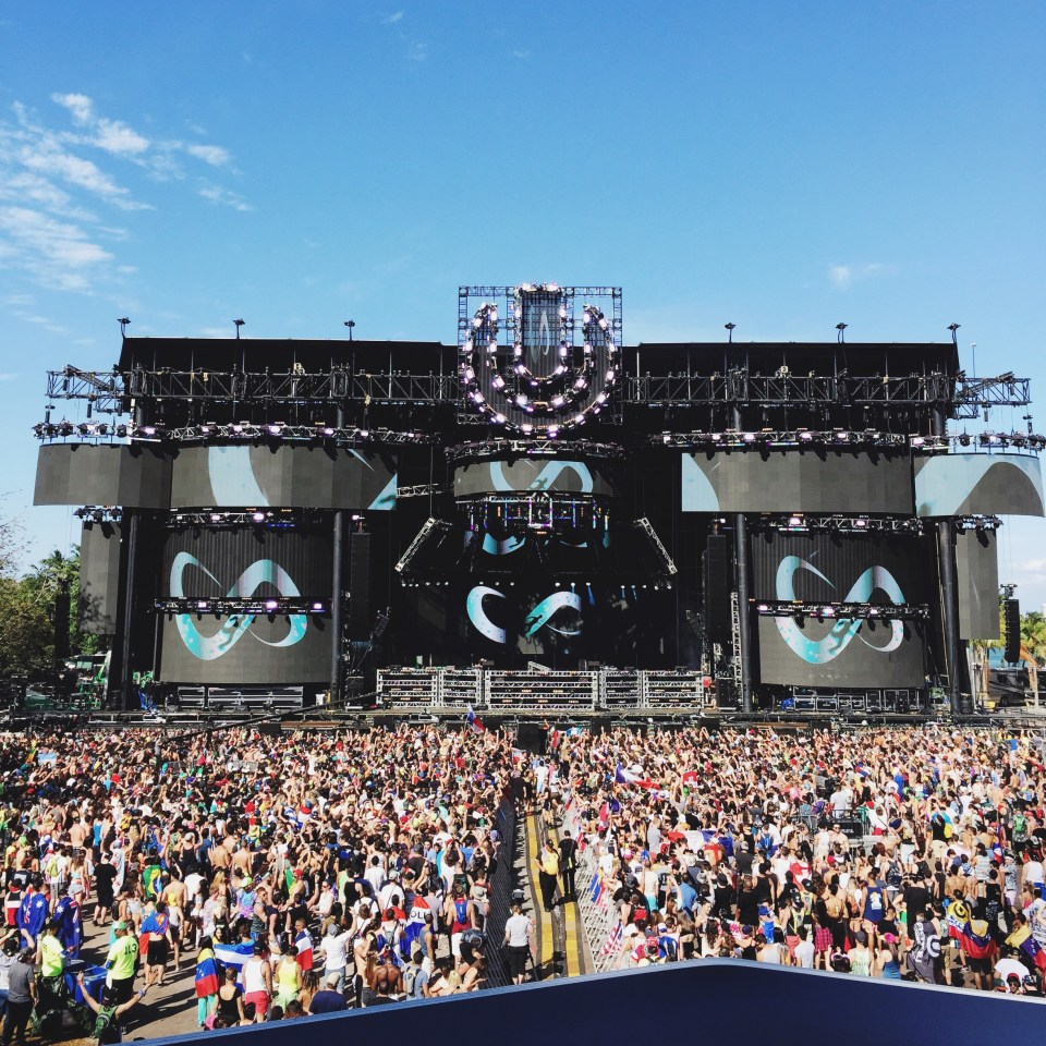 DJ Snake at Ultra Music Festival 2015 Miami Main Stage