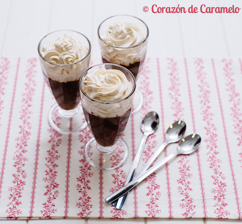 Mousse de Chocolate y Cerveza Negra