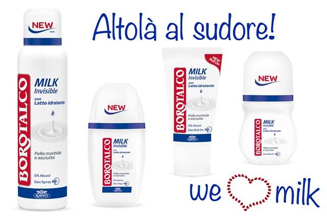 Borotalco milk e i segreti del latte the pocket mama - Borotalco bagno ...