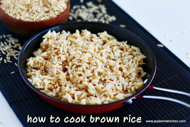 brown-rice in pressure cooker