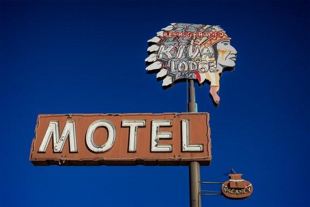 Kiva Lodge Motel - 668 West Main Street, Mesa, Arizona U.S.A. - January 14, 2015