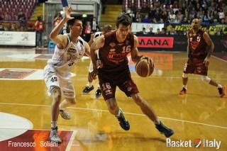 Reyer - Trento: Benjamin Ortner vs Marco Spanghero