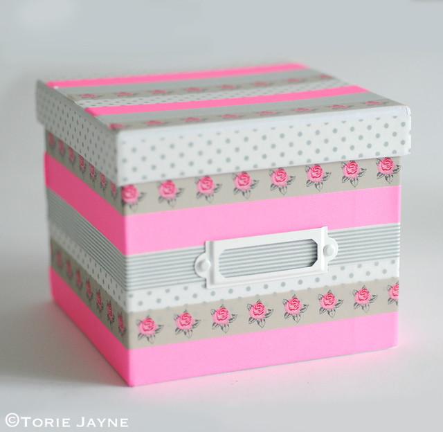washi tape box