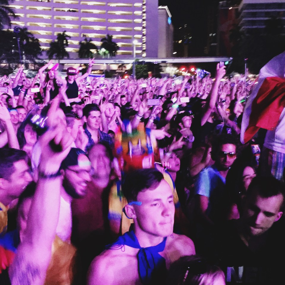 cute twink at Ultra Music Festival 2015 Miami