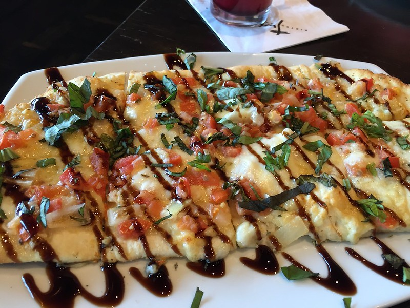 Bruschetta Flat bread appetizer