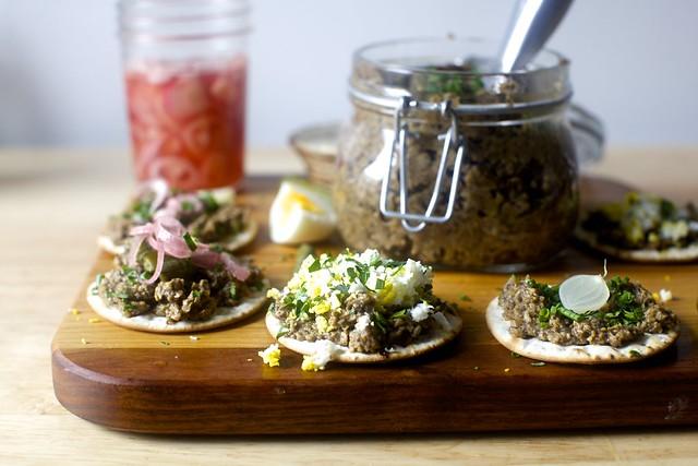wild mushroom pâté