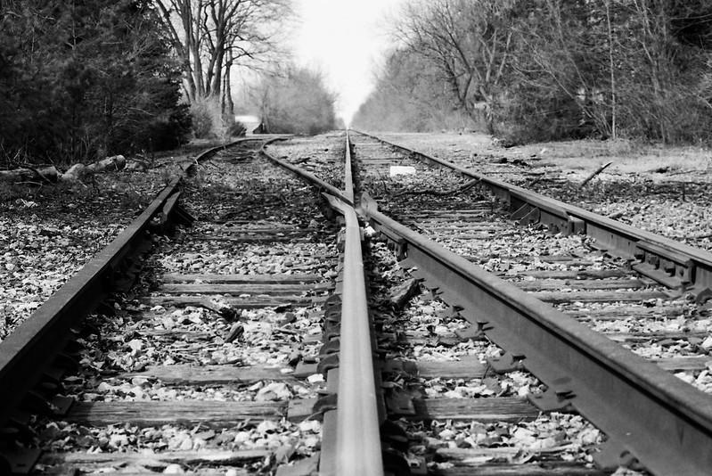 Tracks Diverging