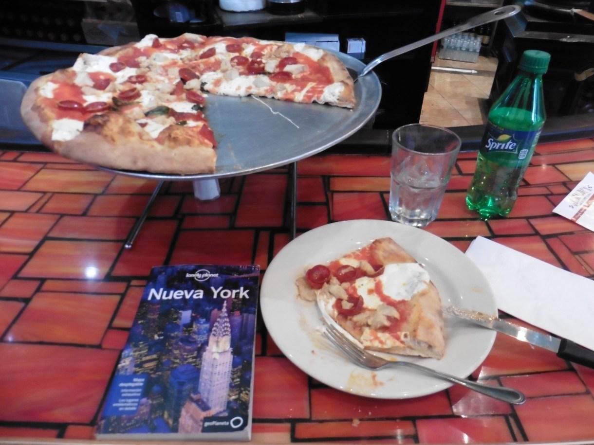 Dónde comer pizza y gastronomía en Nueva York (Estados Unidos) - Pizzería Grimaldi´s.
