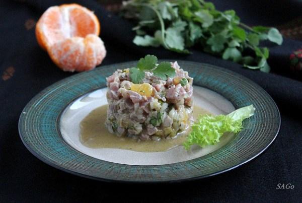 закуска холодная, тунец, рецепт с фото, кухня Латинской Америки