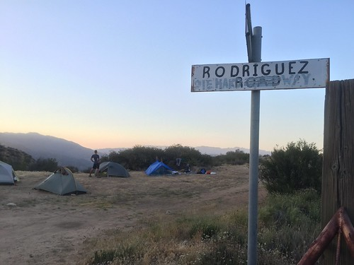 Camp for the night