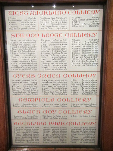 Bolckow and Vaughan - WW1 Roll of Honour