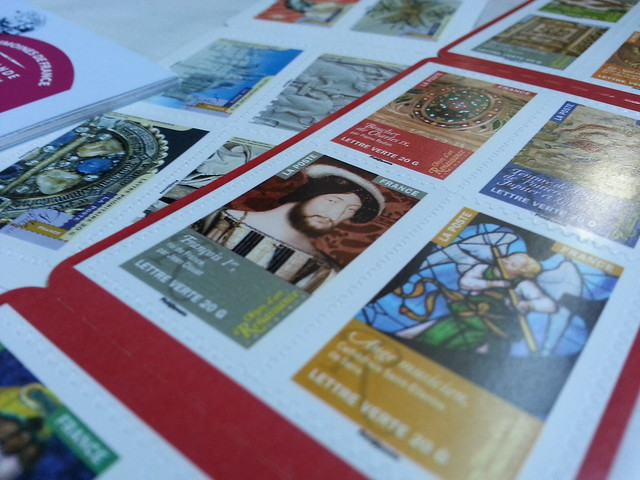 Stamps from La Poste