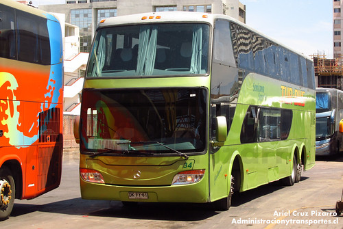 Tur Bus - Iquique - Modasa Zeus / Mercedes Benz (DKFY61)