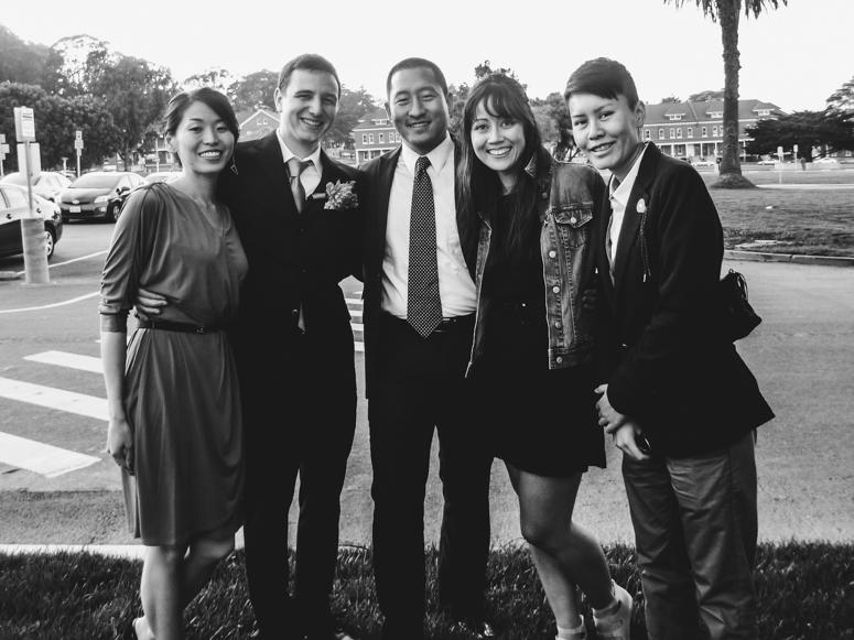 sf // wedding in the presidio