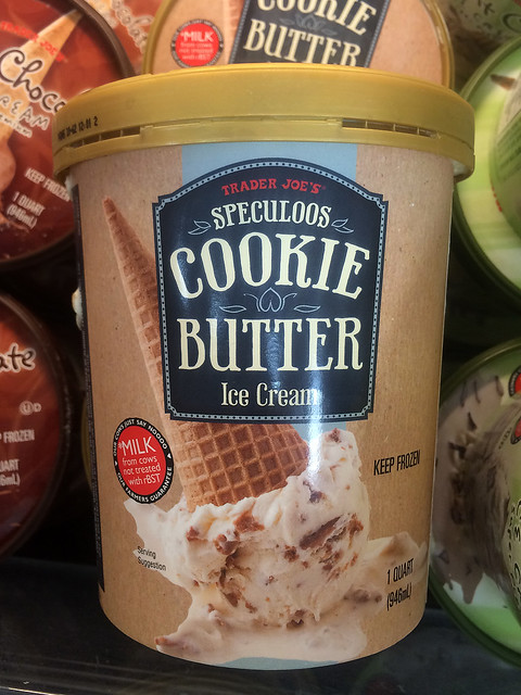 cookie butter ice cream