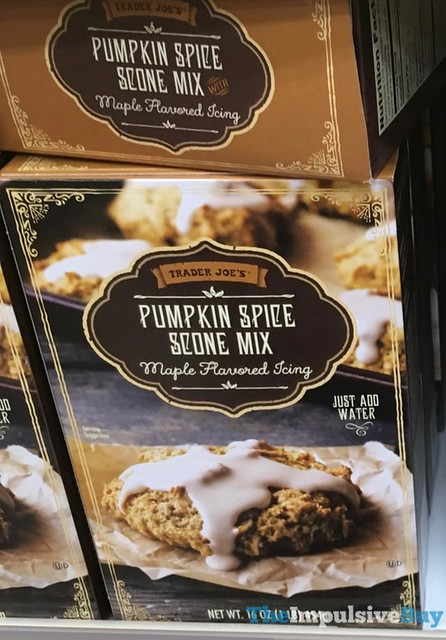 Trader Joe's Pumpkin Spice Scone Mix with Maple Flavored Icing