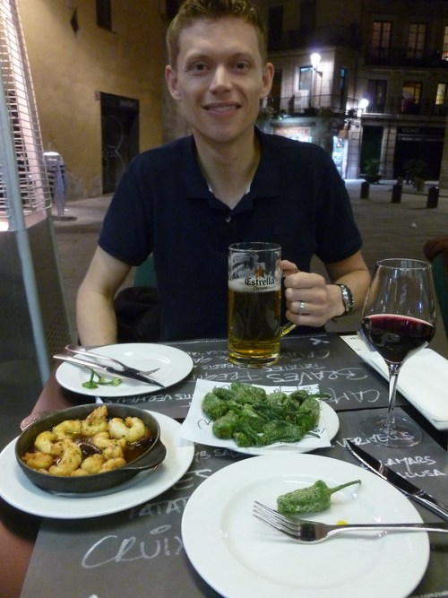 Traditional Spanish Tapas near Basilica Santa Maria del Mar