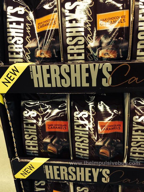 Hershey's Caramels (Milk Chocolate and Dark Chocolate)