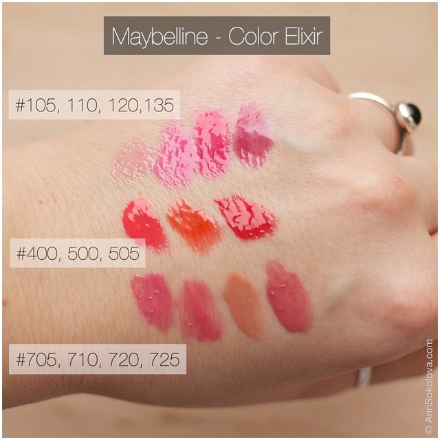 07 maybelline color elixir swatches