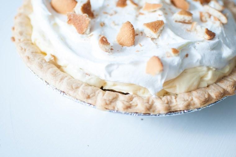 Banana Pudding Pie 2