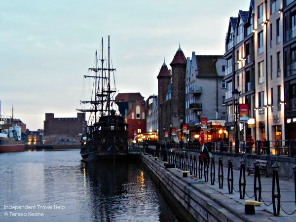Gdansk's waterfront