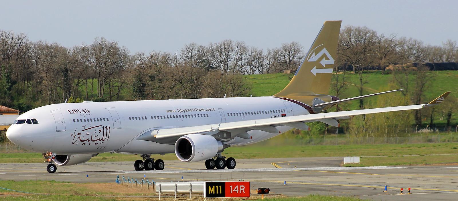 A330-200 LIBYAN AIRLINES F-WWCT MSN 1543 FUTUR 5A-LAU