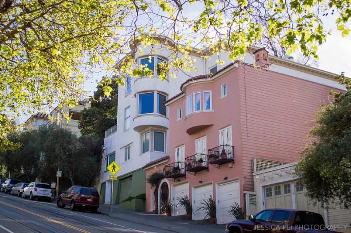 Colorful Houses San Francisco