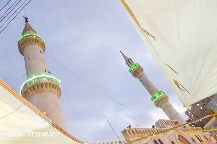 Grand Husseini Mosque Amman Jordan