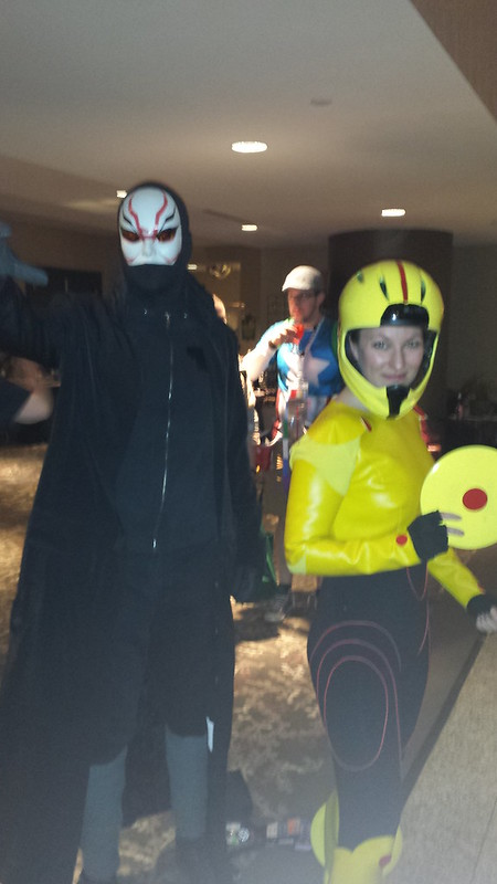 Cosplayers at #penguicon