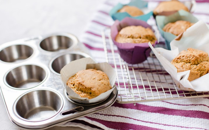 Rose and Pistachio Muffins