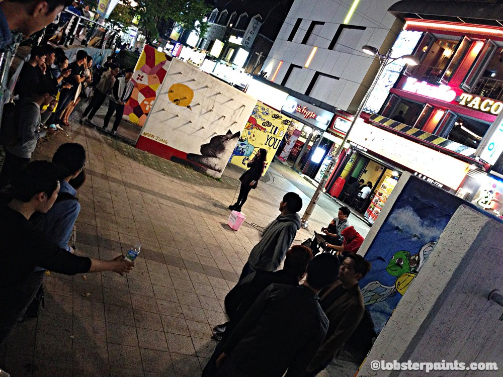 4 Oct 2014: Hongdae (Hongik University Street) | Seoul, South Korea